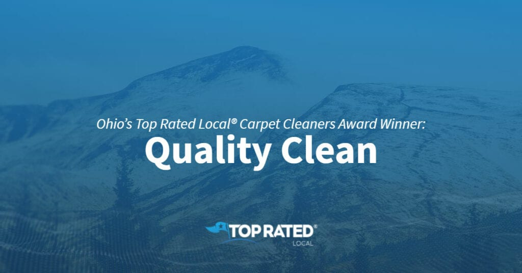Ohio's Top Rated Award - Quality Clean